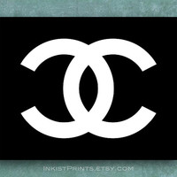 Chanel art wall, Chanel Poster, Chanel Print, Coco Chanel, Chanel decor, Chanel wall decor, 8x10, 11x14, 13x19, 16x20, 17x22