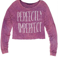 Perfectly Imperfect Long-Sleeve