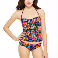 Cinch Tankini & Ruched Hipster