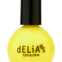 Yellow Daisy Nail Polish