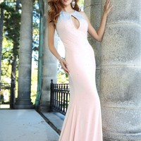 Jovani 90640 Beaded Jersey Dress