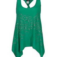 Daytrip Twisted Racer Back Tank Top