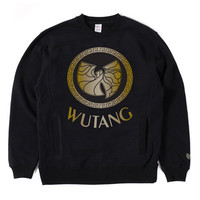 Wutang Brand LTD Wusace Crewneck in Black