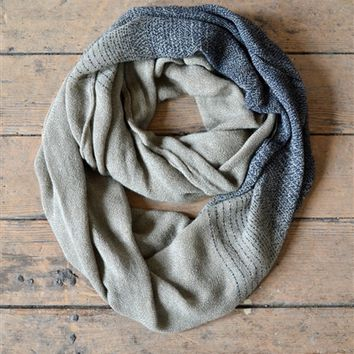 Peppered Infinity Scarf | Gracie B.