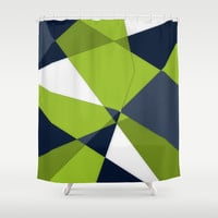 Phrendly Fragments Shower Curtain by DuckyB (Brandi)
