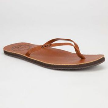 Reef Leather Uptown Womens Sandals Tan  In Sizes