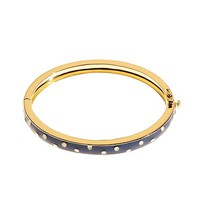 Wide Dot Bangle Bracelet - Brooks Brothers