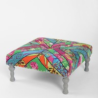 Magical Thinking Kantha Square Stool - Urban Outfitters