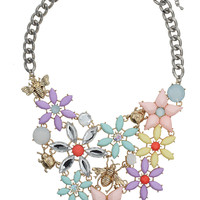 ECLECTIC PASTEL FLOWER COLLAR
