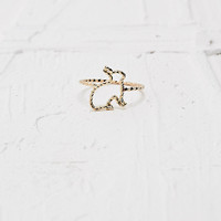Rabbit Ring in Gold - Urban Outfitters