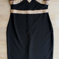 """Starlight"" Sequin Party Dress in Black"