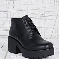 Vagabond Dioon Leather Lace-Up Boots in Black - Urban Outfitters