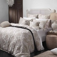 Freya Linen Quilt Cover Set by Private Collection - Just Bedding
