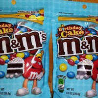 M&M's Birthday Cake Flavor 8oz Bags (2 Pack)