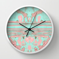 Penelope's Soul Wall Clock by RichCaspian