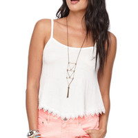 Nollie Hankerchief Hem Crop Tank at PacSun.com