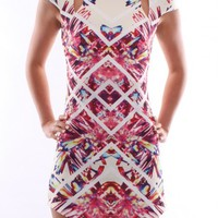 Kaleidoscope Dress Cream - Dresses - Shop by Product - Womens
