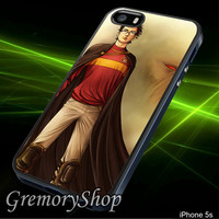 Harry Potter Character - iPhone 4/4S,iPhone 5/5S,iPhone 5C,Samsung Galaxy S3,Samsung Galaxy S4,Rubber Case,Accessories,Case - 050314CG10