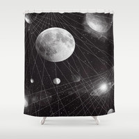 STELLAR. Shower Curtain by DuckyB (Brandi)