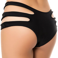 The Rio Bikini Bottom in Black