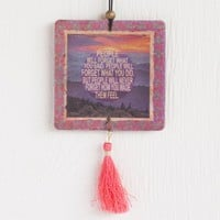 People Will Never Forget Tassel Air Freshener