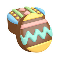 Easter Eggs Sandwich Cookie Mold