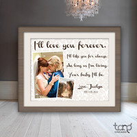 Printable Quote Art Wall Frame Decor - Mothers Day I'll Love You Forever