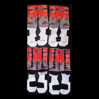 OSU Custom Nike Elite Socks
