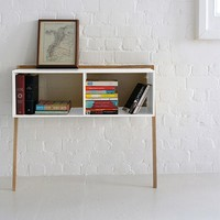 Lean Man Console Table - White