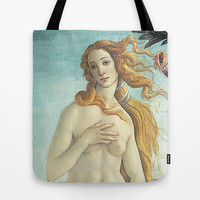 Love Goddess Tote Bag by BeautifulHomes