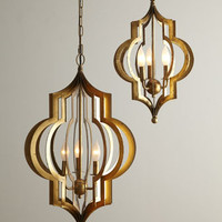 Regina-Andrew Design Pattern Makers Chandelier