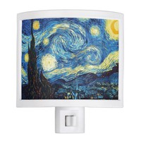 Starry Night Art Night Light