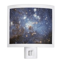 Starry Space Night Light