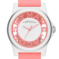 MARC BY MARC JACOBS 'Henry Skeleton' Silicone Strap Watch, 41mm | Nordstrom