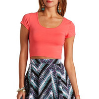 TWIST BACK COTTON CROP TOP