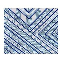 Blue Print Throw Blanket> Bedding> art by Erin Jordan