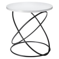 Nate Berkus Accent Table - White/Black