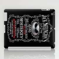 Halloween Nightmare Before Christmas Jack skellingtons Blood Whiskey apple iPad 2, 3 and iPad mini Case