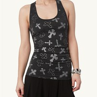 Crosses Racerback Tank