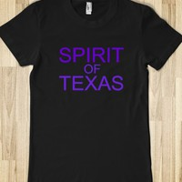 SPIRIT OF TEXAS JUNIORS FITTED TEE