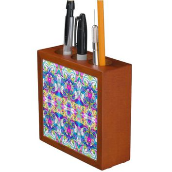 Desk Organizer Indian Style