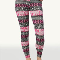 Elephant Paisley Leggings