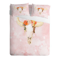 Kangarui Romantic Boho Buffalo Sheet Set