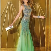 Alyce 6192 Sheer Mermaid Dress