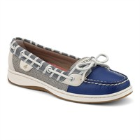 Sperry Top-Sider Bretton Striped Angelfish Boat Shoe EXTENDED SIZES AVAILABLE at Von Maur