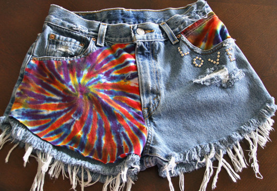Vintage Levi's high waisted Daisy Duke by VIntagedenimcorner