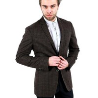 D&G Plaid Wool Blend Blazer Made In Italy