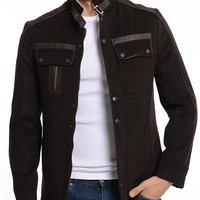 ModaForMen Trimmed Jacket Made In Europe