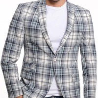 ModaForMen Printed Blazer Made In Europe