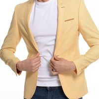 ModaForMen Button-up Blazer Made In Europe